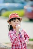 Menina bonita chinesa Foto de Stock Royalty Free