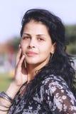 Menina bonita da metade-casta imagens de stock royalty free