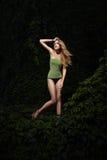 Menina bonita de Blondie Fotografia de Stock