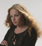 Menina bonita Disappointed Imagem de Stock Royalty Free