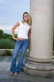 Menina bonita do adolescente fotografia de stock royalty free