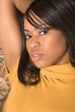 Menina bonita do African-American (retrato) Imagem de Stock Royalty Free
