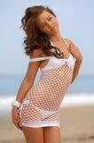 Menina bonita do biquini fotos de stock royalty free