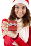 Menina bonita do Natal Imagens de Stock Royalty Free