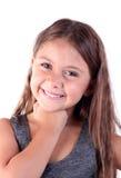 Menina bonita do retrato Imagens de Stock