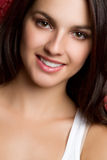 Menina bonita do sorriso Imagens de Stock Royalty Free