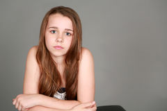 Menina bonita do tween fotografia de stock