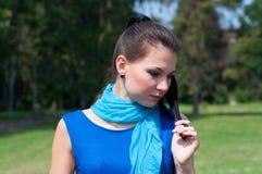 Menina bonita do verão Imagem de Stock