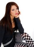 Menina bonita e 'sexy' Fotografia de Stock Royalty Free