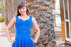 Menina bonita feliz 20 anos velha Imagens de Stock Royalty Free