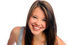 Menina bonita no estúdio imagens de stock royalty free