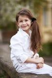 Menina bonita nova Imagens de Stock