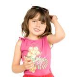 Menina bonita pequena imagem de stock royalty free