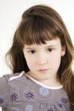 Menina bonita pequena Imagem de Stock