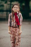 Menina bonita surpreendida Imagem de Stock Royalty Free