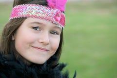 A menina bonita veste-se acima Fotografia de Stock Royalty Free