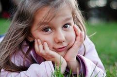 Menina bonito Imagens de Stock