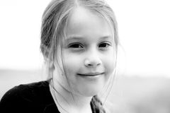 Menina bonito Fotografia de Stock