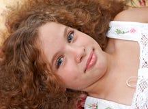 Menina bonito Fotos de Stock Royalty Free
