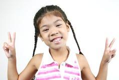 Menina bonito 33 Fotografia de Stock Royalty Free