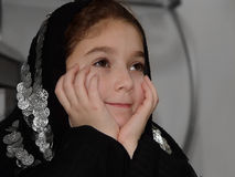 Menina bonito Imagem de Stock