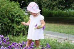 Menina bonito da criança Foto de Stock Royalty Free