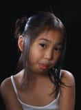 Menina bonito de Ásia Fotos de Stock