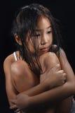 Menina bonito de Ásia Fotos de Stock Royalty Free