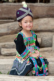 Menina bonito de Laos Hmong Foto de Stock