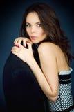 Menina bonito do glam Foto de Stock Royalty Free