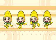 Menina bonito do milho Foto de Stock