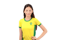 Menina brasileira bonita Imagem de Stock