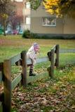 Menina brincalhão engraçada Imagem de Stock