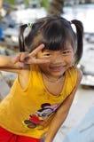 Menina cambojana Imagens de Stock Royalty Free