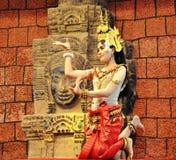 Menina cambojana da dança Fotos de Stock