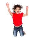 Menina caucasiano adorável Imagem de Stock