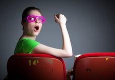 A menina caucasiano atrativa nos seus 30 disparou no estúdio Foto de Stock Royalty Free