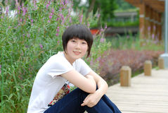 Menina chinesa Imagem de Stock