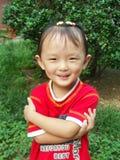 Menina chinesa Imagens de Stock Royalty Free