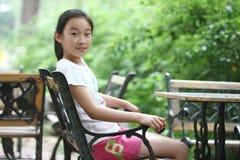 Menina chinesa bonita Fotografia de Stock