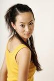 Menina chinesa bonita Fotos de Stock Royalty Free