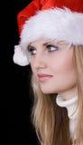 Menina com chapéu vermelho Imagem de Stock Royalty Free
