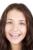 Menina com cintas Fotografia de Stock