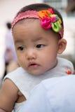 Menina com headband Imagem de Stock Royalty Free
