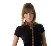 Menina com lenço Fotografia de Stock Royalty Free