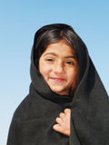 Menina com lenço Foto de Stock