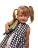 Menina com livro Fotografia de Stock Royalty Free