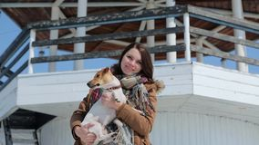 A menina com o cão no fundo do farol filme