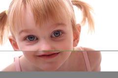 Menina com pigtails Imagens de Stock Royalty Free