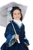 Menina com roupa antiga Foto de Stock Royalty Free